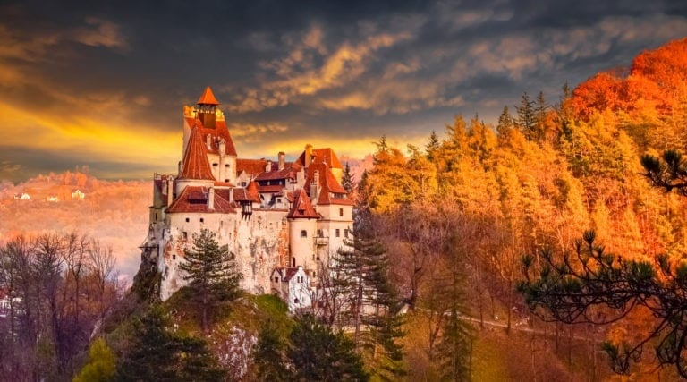 Discover Romania's medieval castles with a local driver!